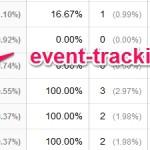event-tracking.com リファラースパム Googleアナリティクスのフィルターで排除!